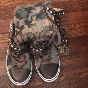 Rock and Candy Camouflage High tops